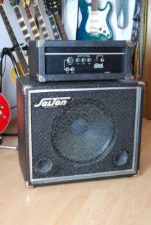 "Bassverstärker und 15"" Bassbox"