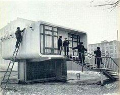 Индивидуальный дом хрущевка. Середина 60х