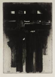 Pierre Soulages '[no title]', 1956 © ADAGP, Paris and DACS, London 2014