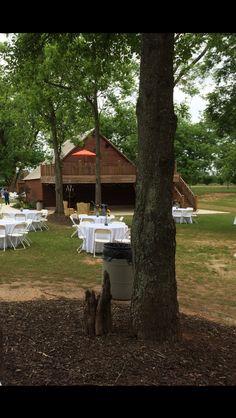 Outside Barn Wedding venue -Thistlewood Farms Barn Wedding Venue, Outside Wedding, Thistlewood Farms, Farm Barn, The Outsiders, Weddings, Plants, Wedding, Plant