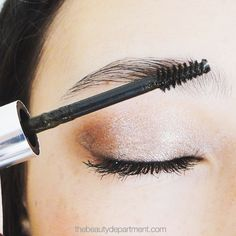 """Move over """"drawn-on"""" brows! We've found a better way to make them bolder! Click through to learn the trick!"""