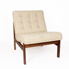 Mid-Century Modern Reproduction Moduline Sofa - Beige Inspired by Ole Gjerlov-Knudsen and Torben Lind
