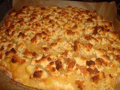 Gourmandises végétariennes: Apfelkuchen mit Marzipanstreusel (vegan)