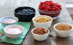 Yogurt Bar ~ Brunch Ideas