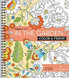 Color  Frame Coloring Book  In the Garden ** Check out the image by visiting the link.
