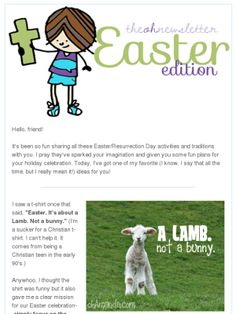 THE best resource for teaching kids about Jesus this #Easter is my friend @ohAmanda