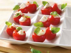 "Fresh Mozzarella in Tomato Cups for ""I Will Never Not Ever Eat a Tomato"" book"