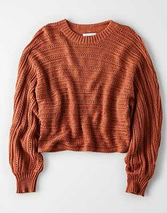 Shop Sweaters & Cardigans for Women at American Eagle. Layer your way in women's sweaters and cardigans, and stay cozy during fall and winter with new sweaters! Outfits For Teens, Fall Outfits, Cute Outfits, American Eagle Sweater, Sweater Shop, Mens Outfitters, Cute Shirts, Sweater Weather, Cardigans For Women
