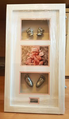 A stunning silver finished hands and feet casting of an adorable eight week old baby girl. https://babycastsandprints.co.uk/