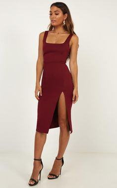 Complete your look with the Mini Love Dress In Wine from Showpo! Bridesmaid Dresses, Prom Dresses, Chiffon Dresses, Fall Dresses, Long Dresses, Wedding Dresses, Schneider, Classy Dress, Wedding Attire
