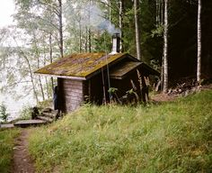 Cabin Porn: Sauna in Pyhajarvi, Finland. Submitted and...
