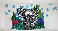 Elefante na Brinquedoteca by Cadumen E-mail: contato@cadumendonca.com