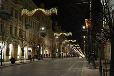 Gediminas Avenue - Vilnius