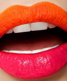 Orange lips #holiday #bloom