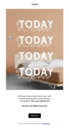 TODAY ONLY! - Really Good Emails