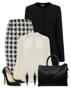 Designer Clothes, Shoes & Bags for Women Business Casual Outfits, Professional Outfits, Business Fashion, Stylish Outfits, Cute Outfits, Work Outfits, Fashion Wear, Work Fashion, Fashion Outfits