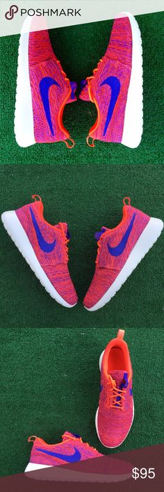 Women's Nike Roshe Flyknit sneakers •Brand new •Authentic •Box not included Nike Shoes Sneakers