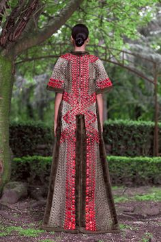 Givenchy - Pasarela Alta Costura Otoño-Invierno 2012/2013 detalle detrás