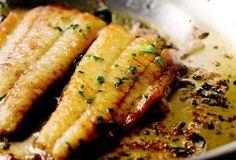 Flounder with Lemon-Butter Sauce