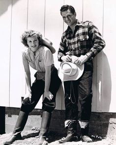 Lucy Ball and Desi Arnaz in the early 1940s