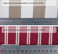 Maine Col 16 Beige / Maryland Col 1 Röd Från LC Möbler Maine Col 16 Beige / Maryland Col 1 Red From LC Furniture
