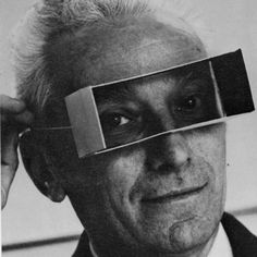 Bruno Munari bI like this Arnold Newmans like portraits - Iguess This guy was inventor od 3D cinema?
