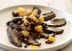 Miso-Marinated Portobello Carpaccio (Vegan) Recipe — Dishmaps
