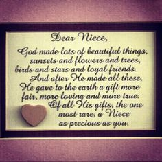 Love You Niece Quotes - WOW.com - Image Results