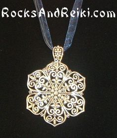 Celtic Flower Mandala Necklace <3