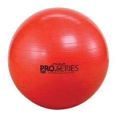 TheraBand Pro Series SCP Burst Resistant Exercise Balls - Red - 5'1-5'6