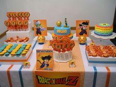 Resultado de imagen para cumpleaños tematicos dragon ball z