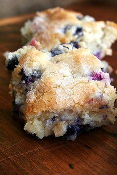 Blueberry breakfast casserole, Yum..