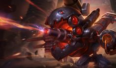 Kog'Maw - Skin Mecha #kogmaw #skin #mecha #league #legends
