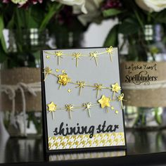 Shining Star Card by Latisha Yoast | Spellbinders