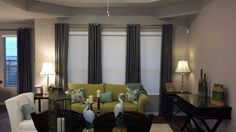 Budget Blinds serving Corpus Christi did an excellent job on these custom drapes #CorpusChristi #Drapes