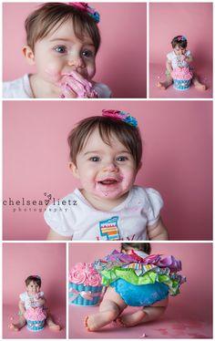 Chelsea Lietz Photography, San Antonio photographer, cake smash photos, first birthday cake, one year portraits