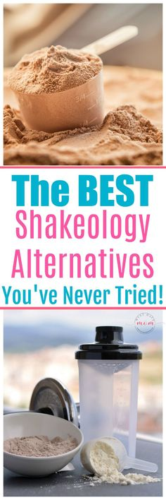 5 of the BEST Shakeology alternatives that you've never tried! Better taste, lower cost, same benefits!