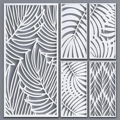 Laser Cut Screens, Laser Cut Panels, Decorative Screens, Decorative Objects, Laser Cut Lamps, Jaali Design, Cnc Cutting Design, Creative Wall Decor, Room Partition Designs