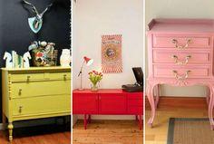 Seis dicas incríveis para reformar os móveis e decorar sua casa - DaquiDali
