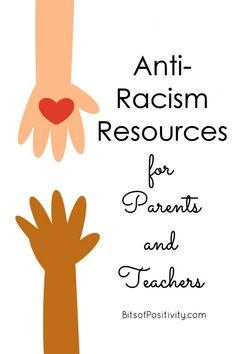 Anti-racism resources for parents and teachers ... emphasizing resources for parents and teachers of young children because it's so important to start focusing on anti-racism early - Bits of Positivity American Montessori Society, Learning Activities, Activities For Kids, Positivity Blog, Homeschool Curriculum, Homeschooling, Anti Racism, Character Education, I School