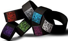 QR Code bracelet.