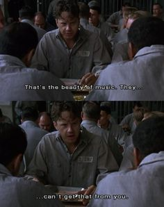 You are watching the movie The Shawshank Redemption on Putlocker HD. Framed in the for the double murder of his wife and her lover, upstanding banker Andy Dufresne begins a new life at the Shawshank prison, where he puts Favorite Movie Quotes, Best Quotes, Popular Movies, Good Movies, Movies Showing, Movies And Tv Shows, Shawshank Redemption Quotes, Die Verurteilten, Tim Robbins