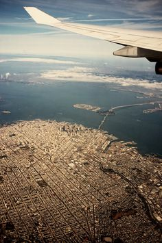 jersey girl resided in the bay area. laidback, spirtual graphic designer just living the cali life. San Diego, San Francisco, Plane Window, Image Photography, Color Photography, Vacation Places, Aerial View, Bay Area, Trip Planning