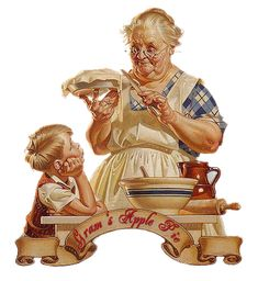 The Willow Wood Relief Society: 'Favorite Things' Relief Society Birthday Party - poem about aprons. Vintage Images, Vintage Art, Vintage Ephemera, Vintage Pictures, Vintage Signs, Vintage Postcards, Grandma Cooking, Retro, Grands Parents