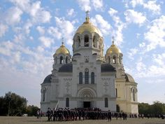The Novocherkassk Army Assumption Cathedral of the Don Cossacks of southern Russia