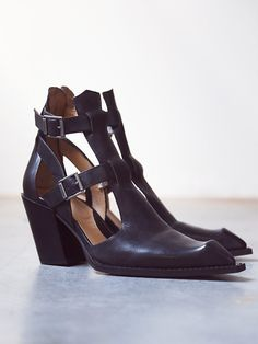John Fluevog Postmodern Ankle Boot at Free People Clothing Boutique
