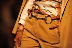 Re-fashioned horse bit. Equestrian inspired fashion