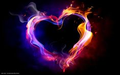 heart in flames - Google Search