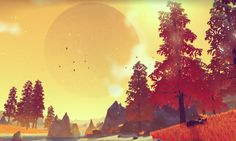 No Man's Sky creator: 'We wanted to build a universe' - Developed by a team of seven people, this vast space sim could change the way we think about science-fiction games. Caption: No Man's Sky allows players to hop in a space ship and explore an unthinkably huge galaxy, densely populated with other lifeforms. Photograph: Hello Games PR