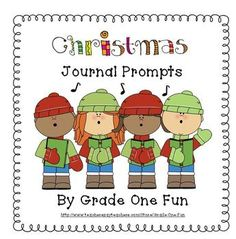 Christmas Writing Prompts  7 writing prompts on primary interlined paper.  Free!